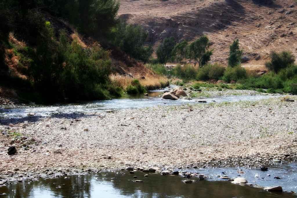 Jabbok-Tal in Jordanien