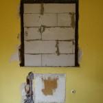 Zugemauertes Schlafzimmerfenster: Sicht- und Hitzeschutz