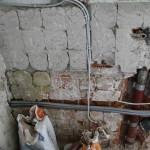 Unterputz-Installation in der Küche