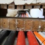 Durchbrüche: Leitungskanal zum Dachboden