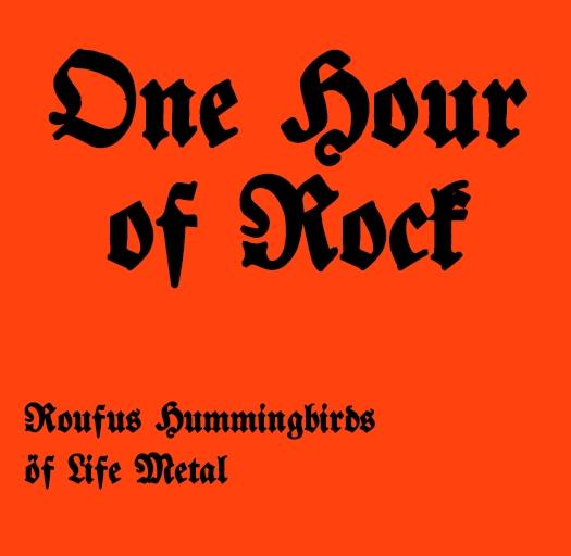 Coverbild von One Hour of Rock