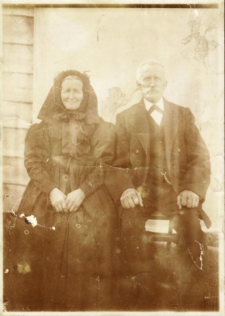 August (*1860; †1938) und Katharina Maier (*1861; †1938), geb. Nester. [Seite 28]