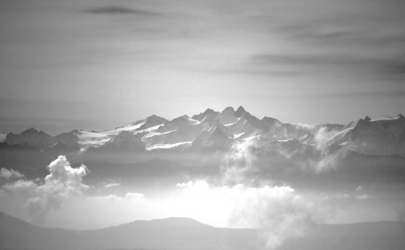 Auf dem Gipfel ist Ruh'