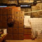 Die packbaren Inhalte im Zwischenlager