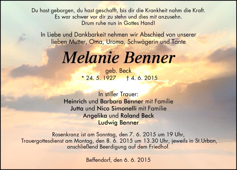 Melanie Benner